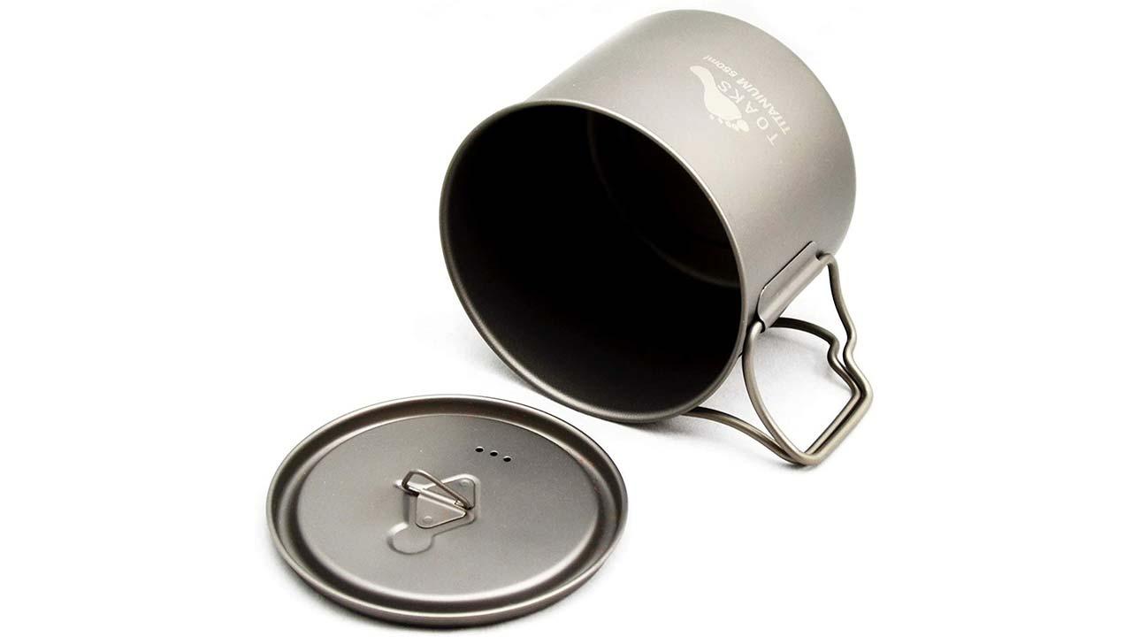Toaks Titanyum pot 550 ml