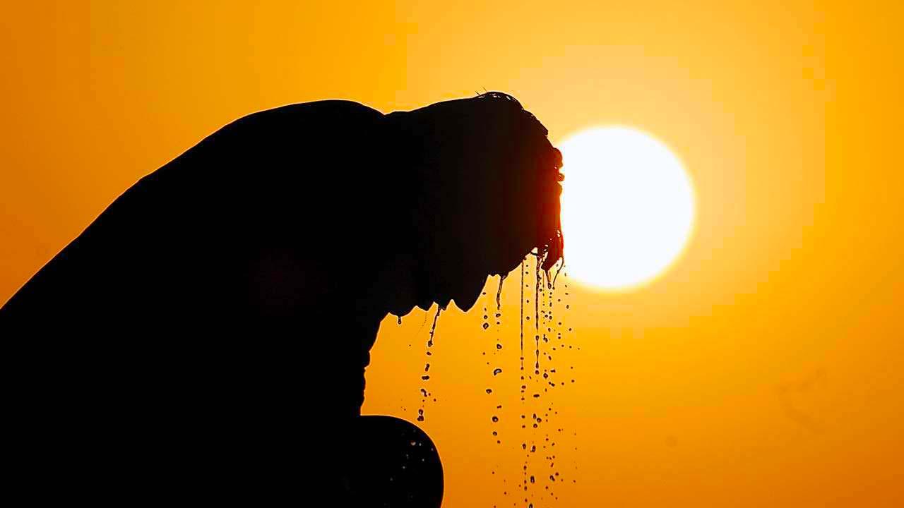 güneşte sıcak çarpması