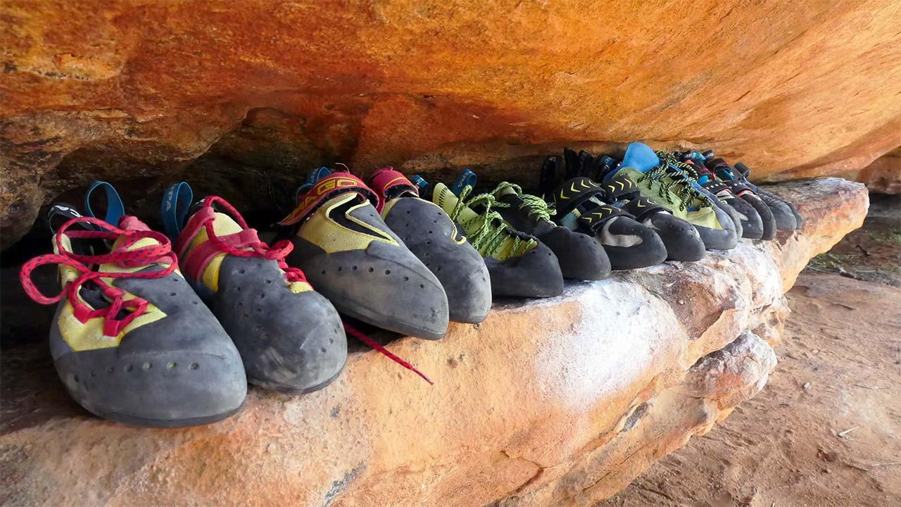 kaya tırmanış ayakkabıları