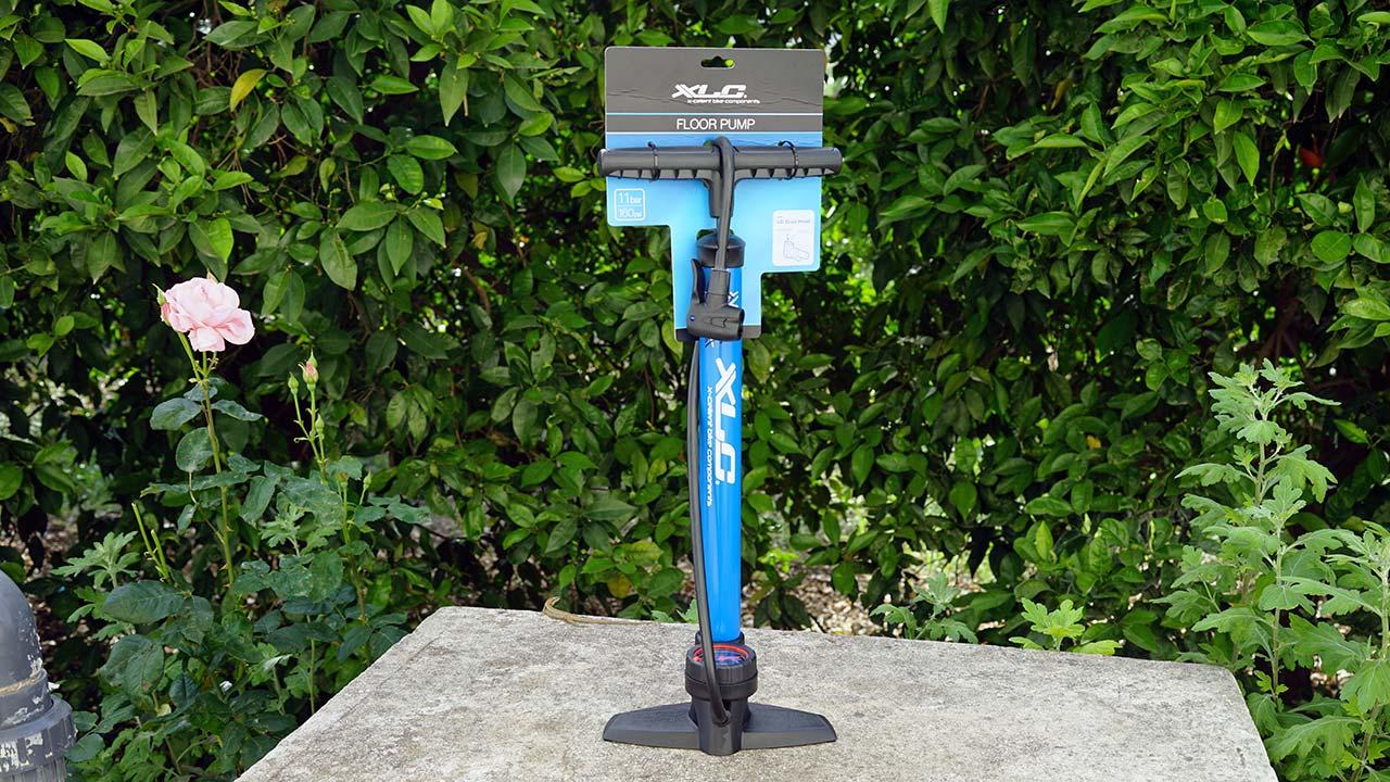 XLC Delta PU S04 ayaklı bisiklet pompası