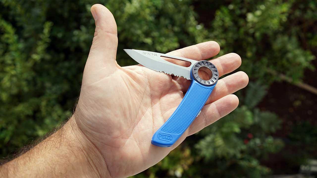 Petzl Spatha kamp bıçağı
