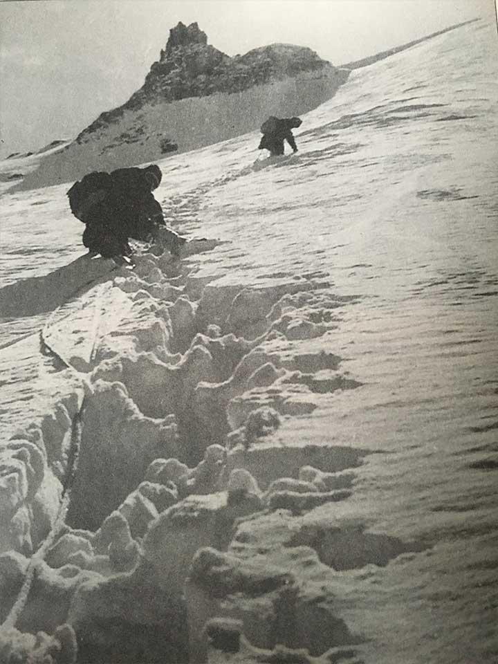Erciyes 1967 tırmanışı