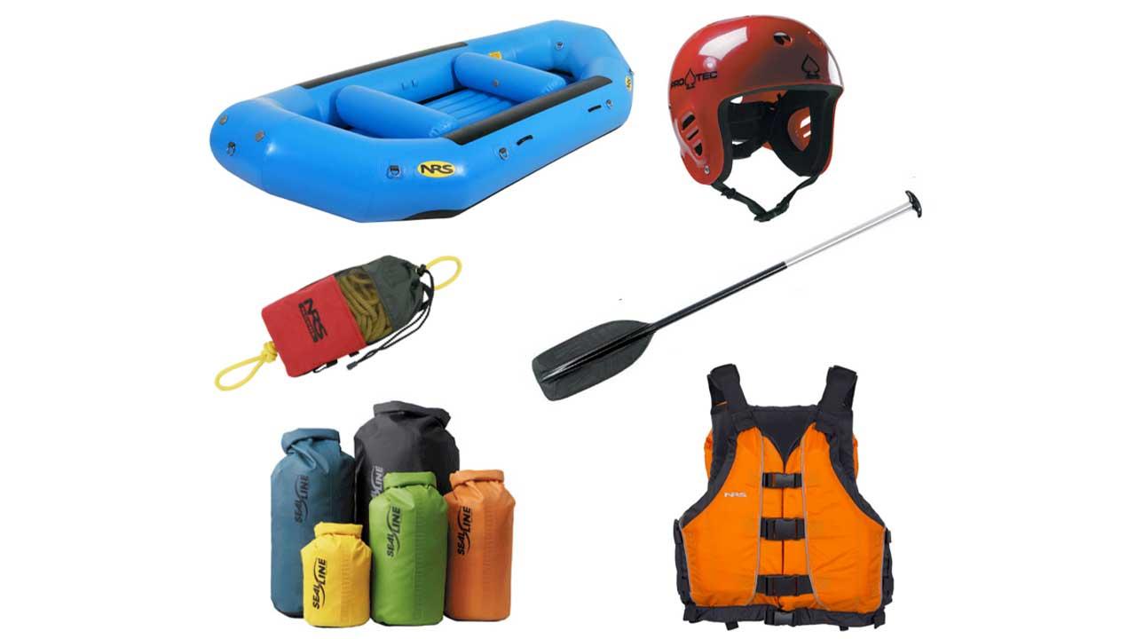 Rafting ekipmanları