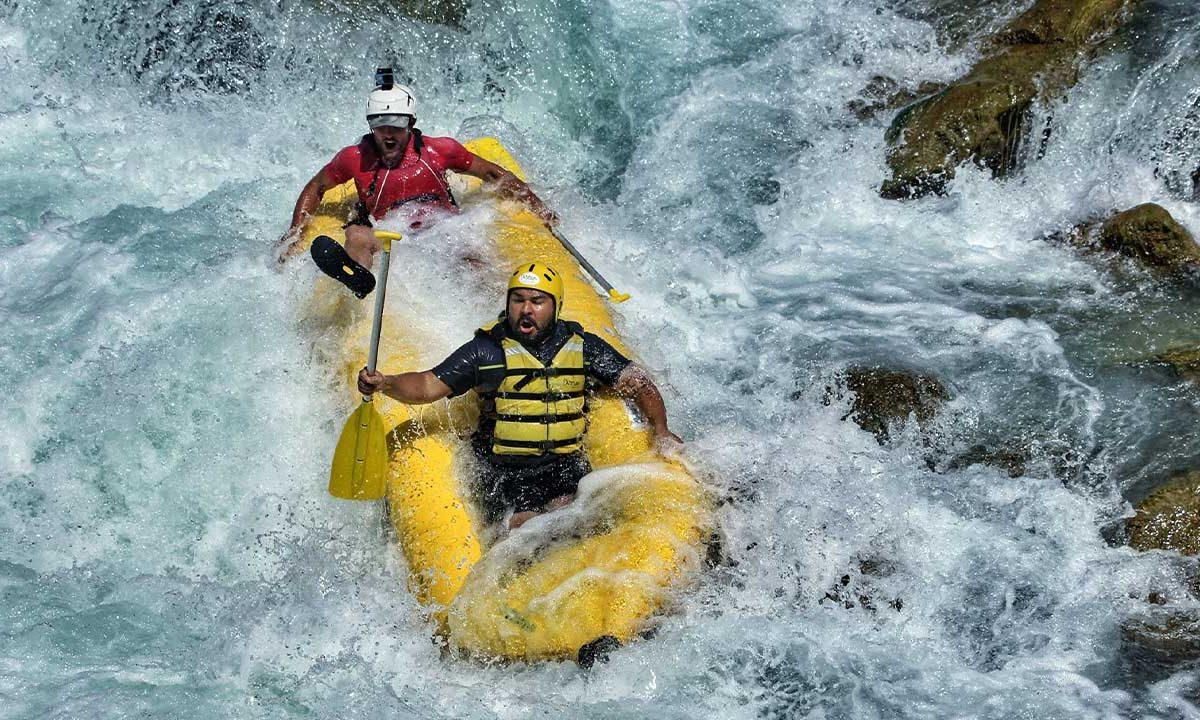 Türkiye'deki En Popüler Rafting Parkurları