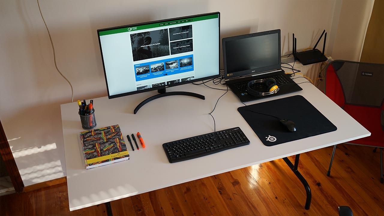 LG 32QN650-B 32QN600-B QHD 32 inç göz yormayan tasarımcı monitörü