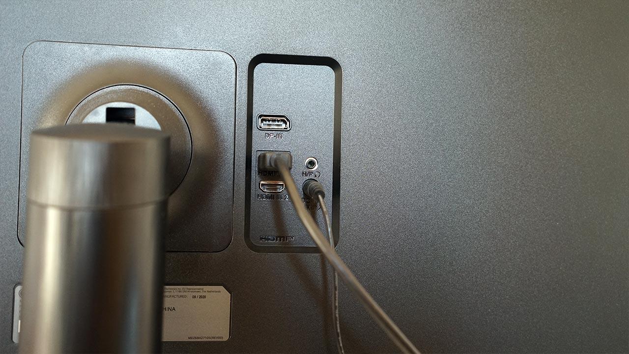 LG 32QN650-b giriş çıkış portlar