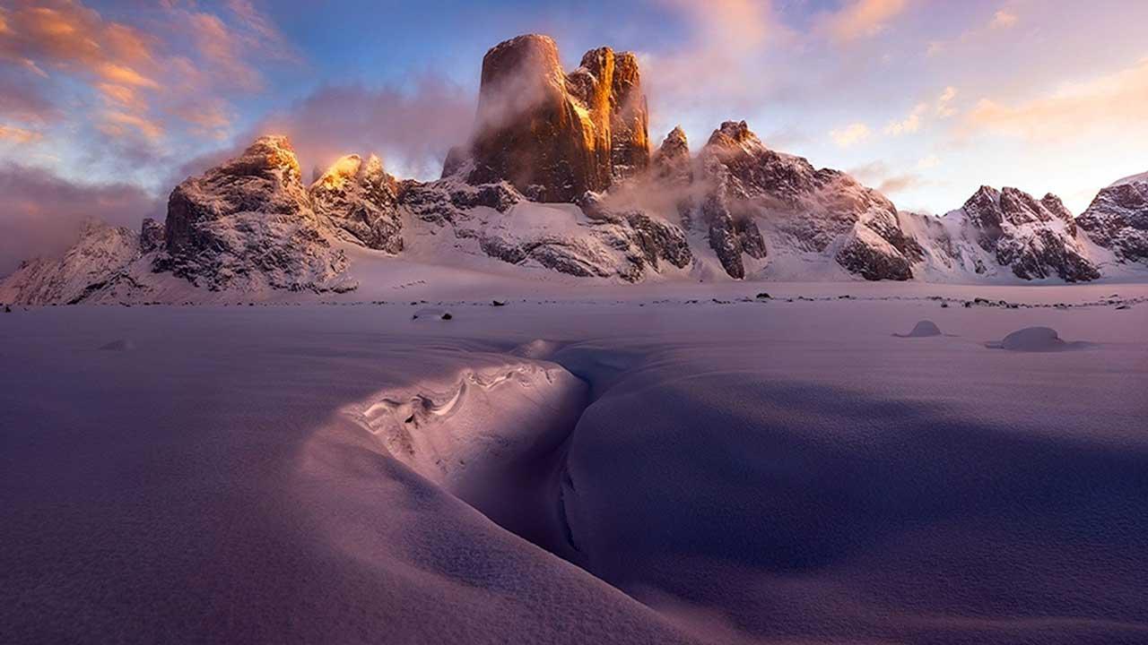 Baffin Adası Mount Asgard