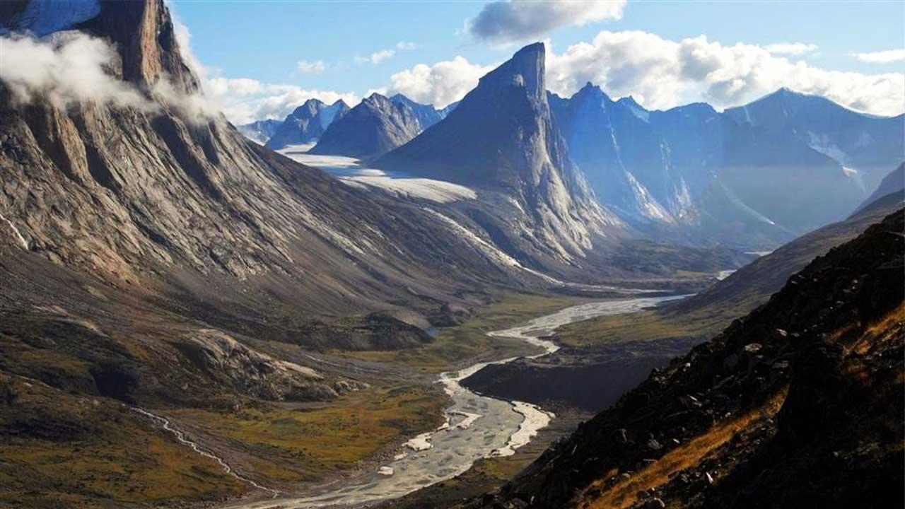 Baffin Adası Mount Thor