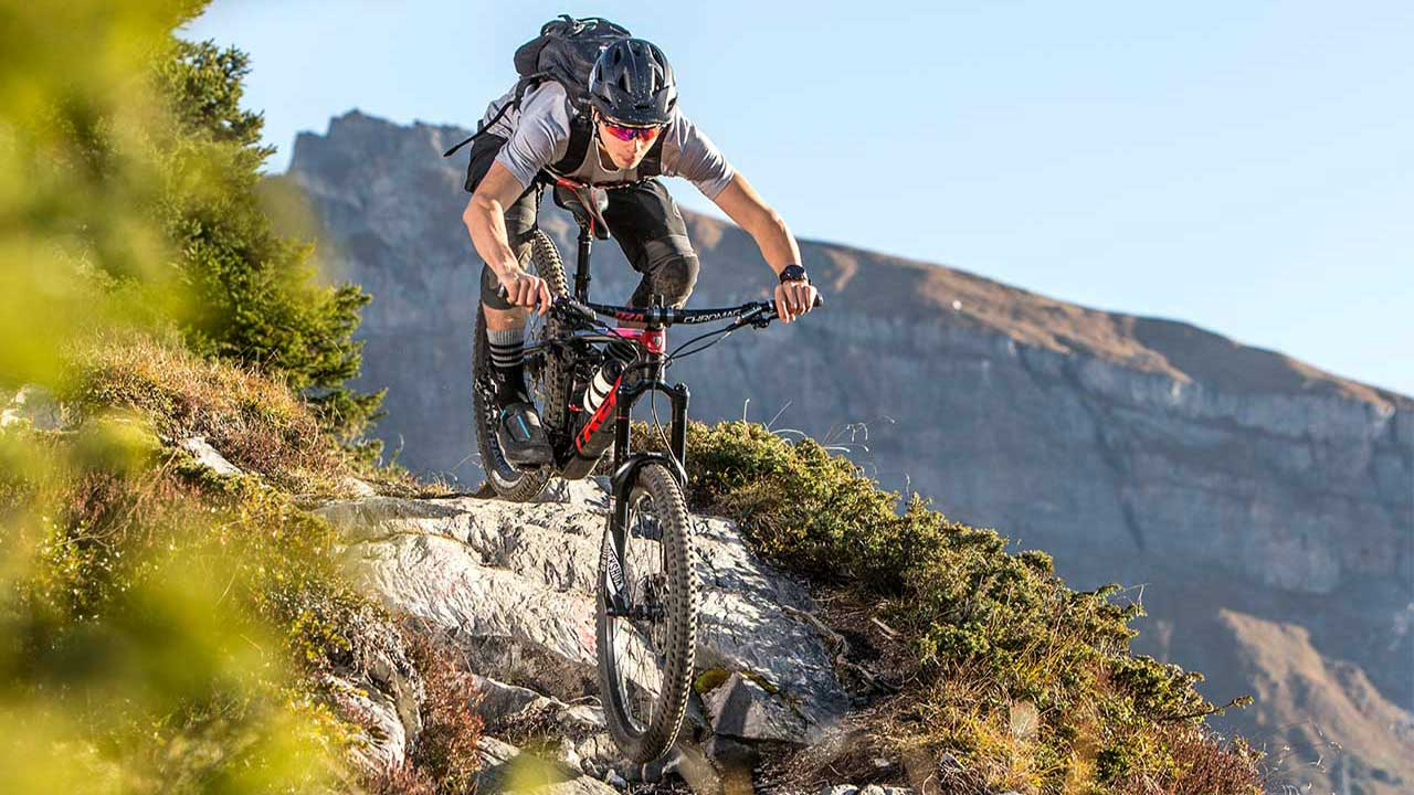 Dağ bisikleti iniş