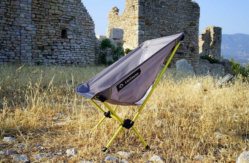 Helinox Chair Zero Kamp Sandalyesi İncelemesi