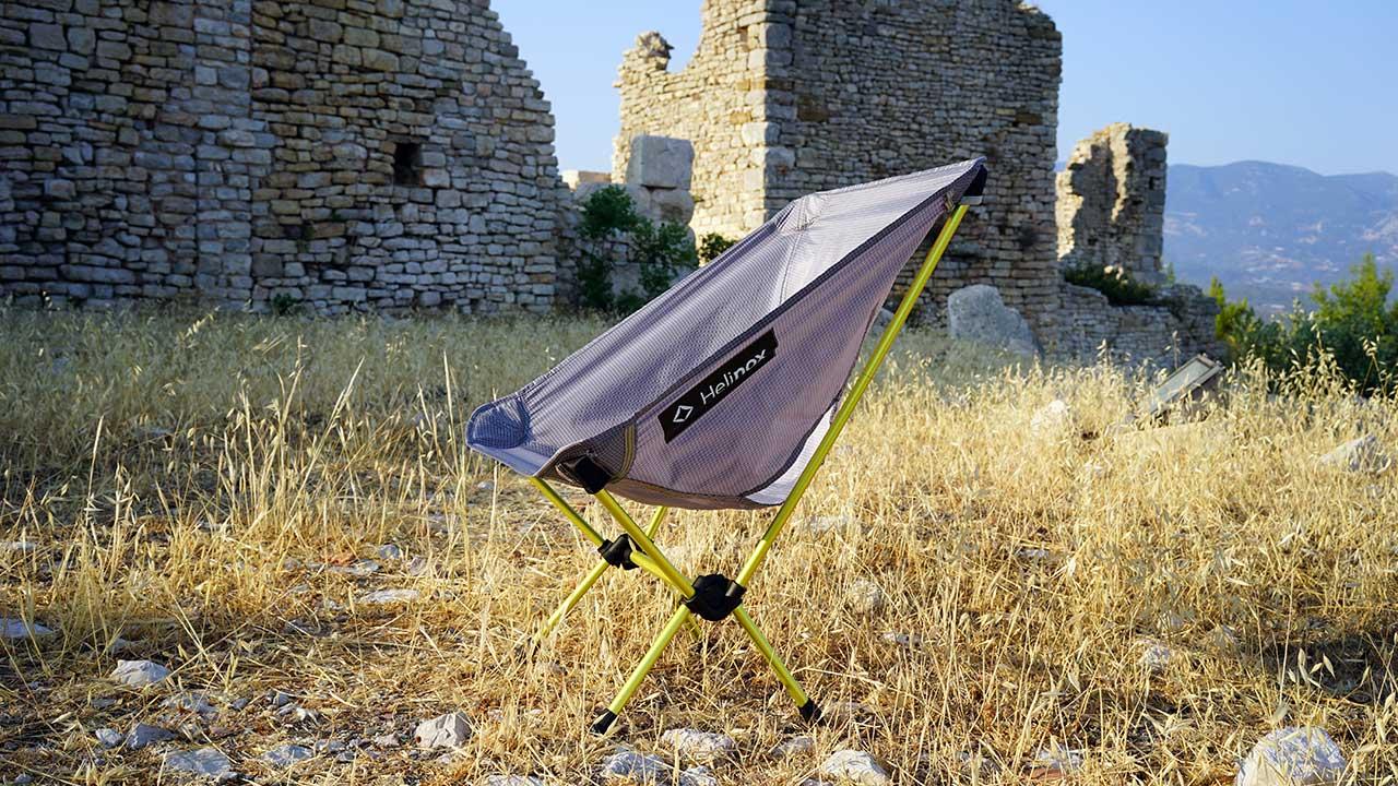 Helinox Chair Zero Ultra hafif Kamp Sandalyesi