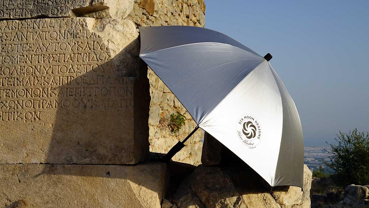 Six Moon Designs Silver Shadow Carbon yürüyüş şemsiyesi