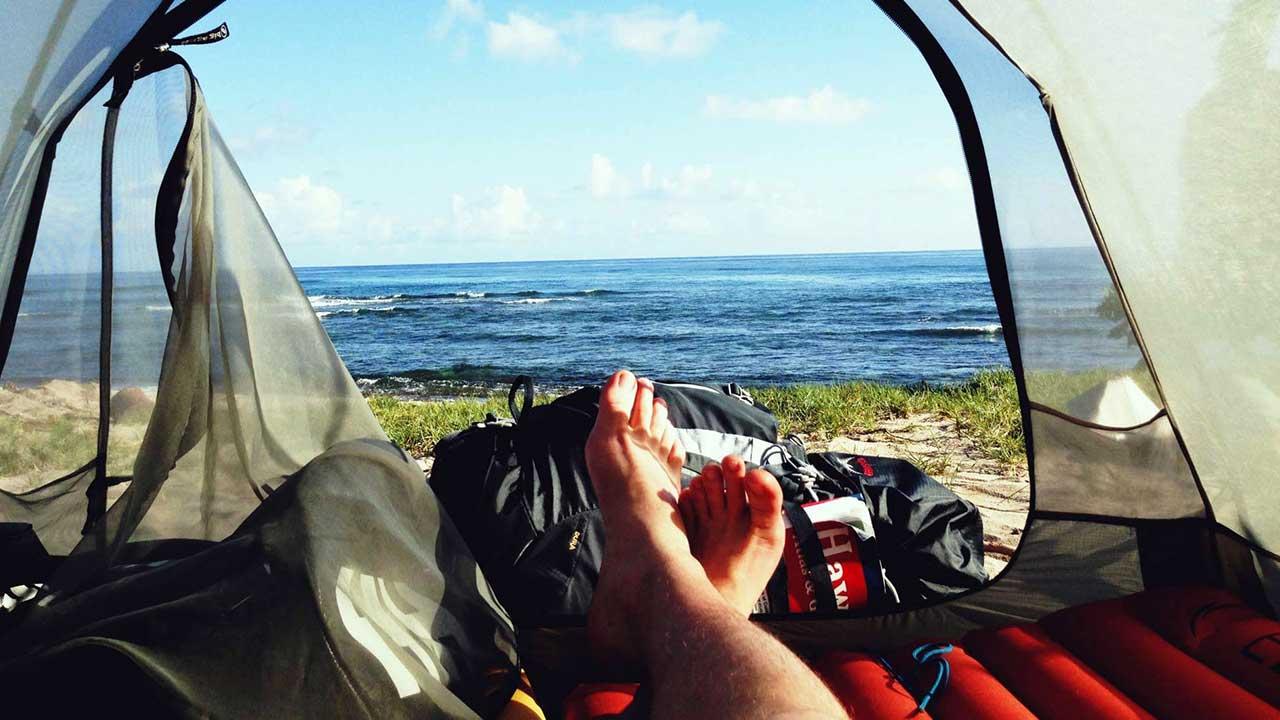 Yaz kamp çadır